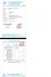 Test report băng cản nước waterstop pvc TCVN 4509:2014 phù hợp Quy chuẩn Quốc gia QCVN 16:2014/BXD