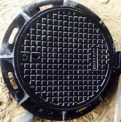 Bộ nắp hố ga khung tròn nắp tròn MACCO TP-NT-01 (F-900)