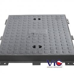 Bộ nắp hố ga khung vuông âm nắp tròn MACCO TP-KANT-32 (F-900)
