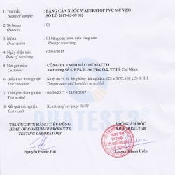 TIÊU CHUẨN QUỐC GIA TCVN 9407: 2014 VẬT LIỆU CHỐNG THẤM - BĂNG CHẶN NƯỚC PVC