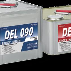 Keo epoxy DEL 090 bơm chống nứt bê tông