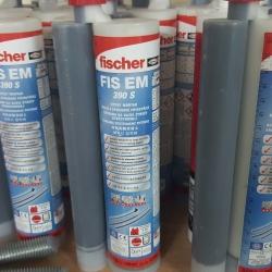 Báo giá hóa chất cấy thép Ficher EM 390S rẻ nhất 2016