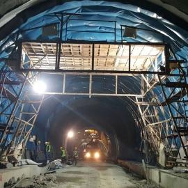 Màng PVC trải chống thấm đường hầm